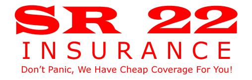 Cheap SR22, Cheapest SR22, Cheap SR22